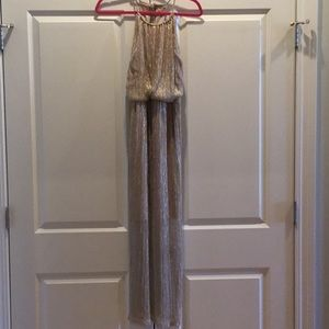 Sparkly, gold and silver dress!